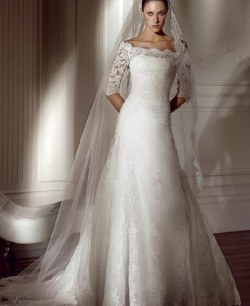Wedding Dress M_164