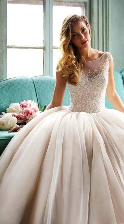 Wedding Dress M_1709