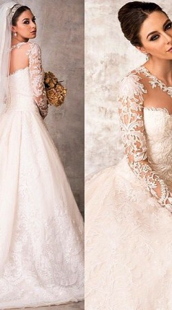 Wedding Dress M_1732