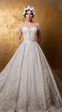 Wedding Dress M_1734