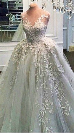 Wedding Dress M_1797