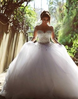 Wedding Dress M_2029
