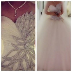 Wedding Dress M_654