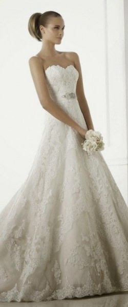 Wedding Dress M_2195