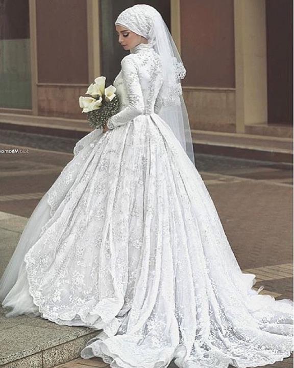 Muslimische Brautkleid M-1910