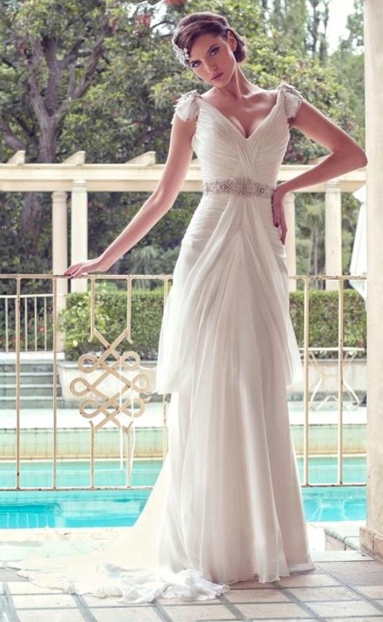 Chiffon Wedding Dress M-2054