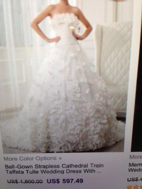 Wedding Dress M_509