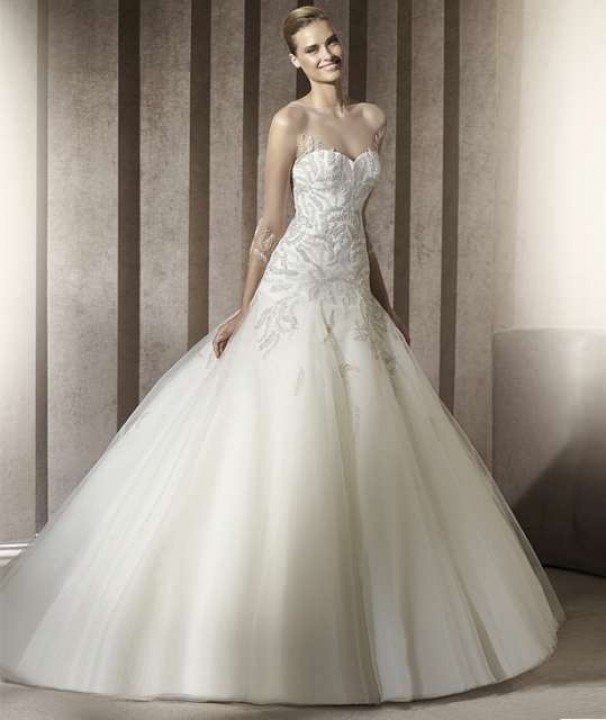Wedding Dress M_536