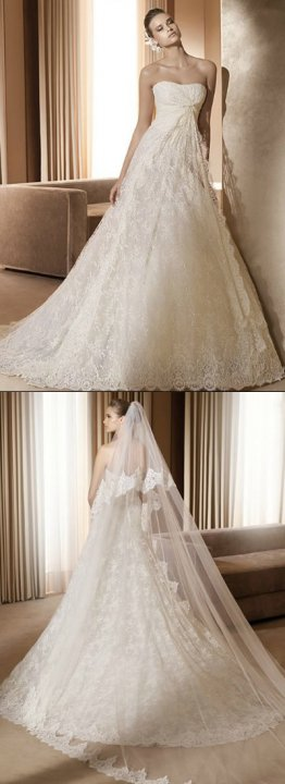 A-Line Wedding Dress M-732