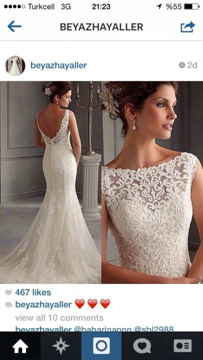 Mermaid, Off The Shoulder and Backless, Lace Back, V Back, Back Details Wedding Dress M-1072