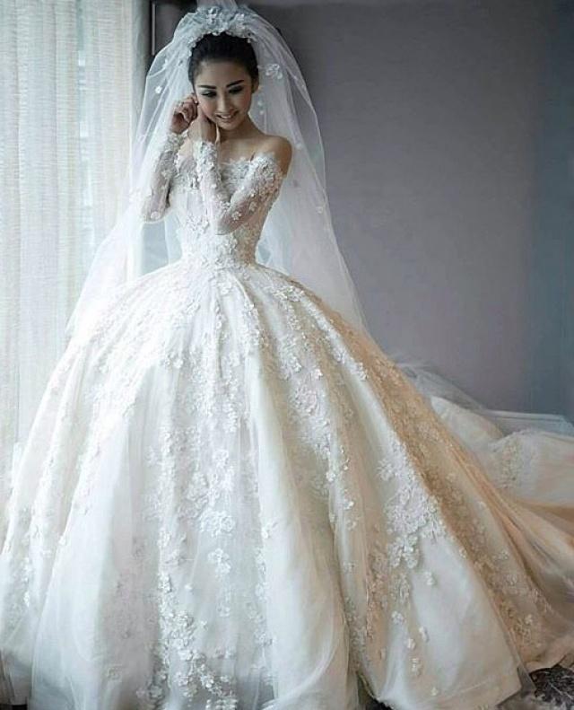 Ball Gown Wedding Dress M-2187
