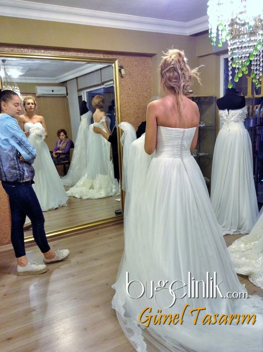 Wedding Dress B_519