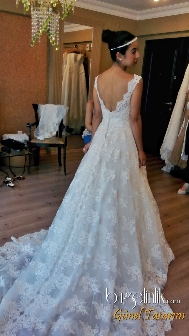 Wedding Dress B_542
